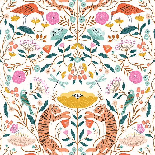 Dashwood Studio Our Planet Wildlife & Flora in White (£3.25 fq / £13.00pm)