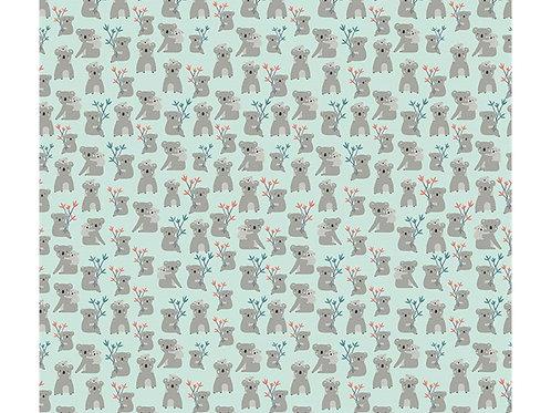 Riley Blake Joey - Koalas Mint