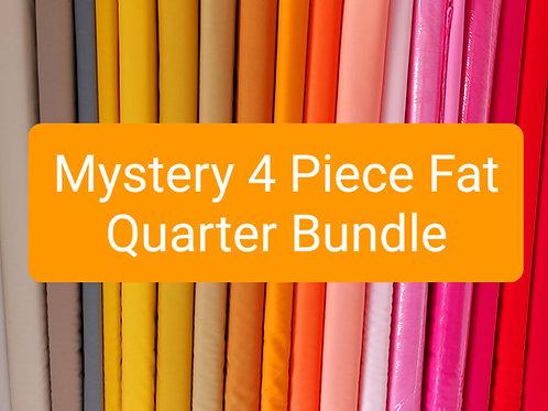 Mystery 4 Piece Fat Quarter Bundle