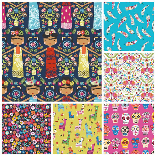 Dashwood Studio Fiesta Fat Quarter Bundle (6)
