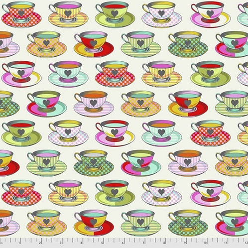 *Pre-Order* - Tula Pink Curiouser and Curiouser Tea Time in Sugar