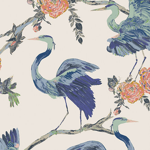 Herons Wisdom by Bari J. Art Gallery Fabrics (£3.60fq/£14.40pm)