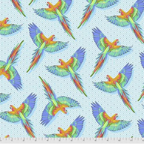 *Pre-Order* Tula Pink Daydreamer Macaw Ya Later Cloud (£3.75fq/£15pm)