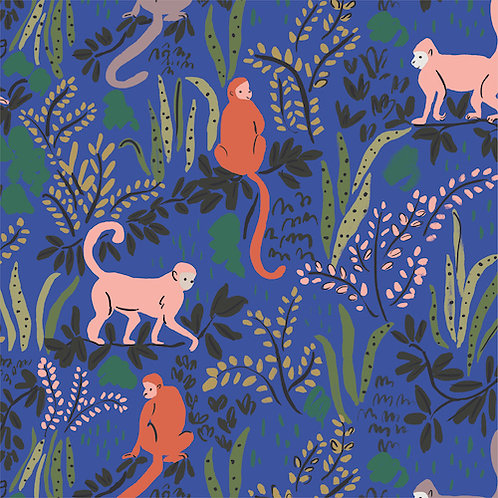 Cloud9 Tranquil Monkeys from The Garden of Eden Collection
