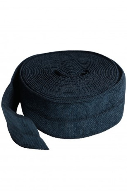 Fold-Over Elastic 20mm 2 Yard Package in Navy By Annie