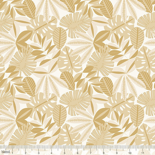 Blend Tree Huggers -Tropical Foliage in Gold