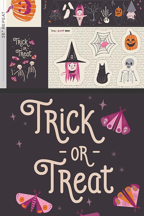 *Pre-order* Sweet Haunting Panel Spooky & Sweeter by Art Gallery Fabrics