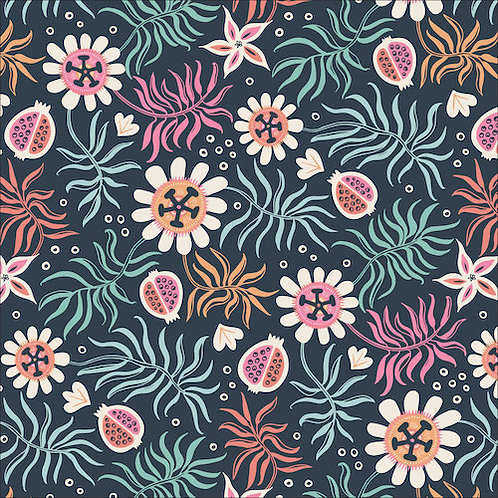 Cloud9 Tropical Garden in Black from Tropical Garden -  (£3.95fq/£15.80pm)