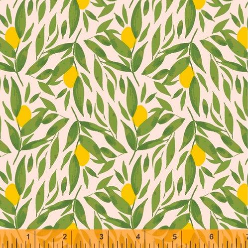 Windham Fabrics Cora - Kumquats in Blush (£3.75fq / £15.00pm)