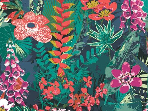 Boscage Lush Rainforest by Art Gallery Fabrics (£3.60fq / £14.40pm)