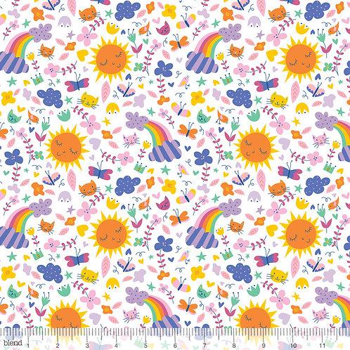 Blend Happy Skies - Sunshine & Rainbows in White