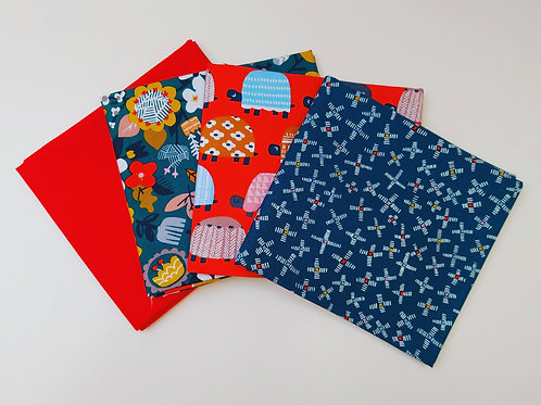 Dashwood Studios Hibernate Fat Quarter Bundle