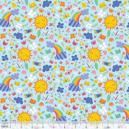 Blend Happy Skies - Sunshine & Rainbows in Blue