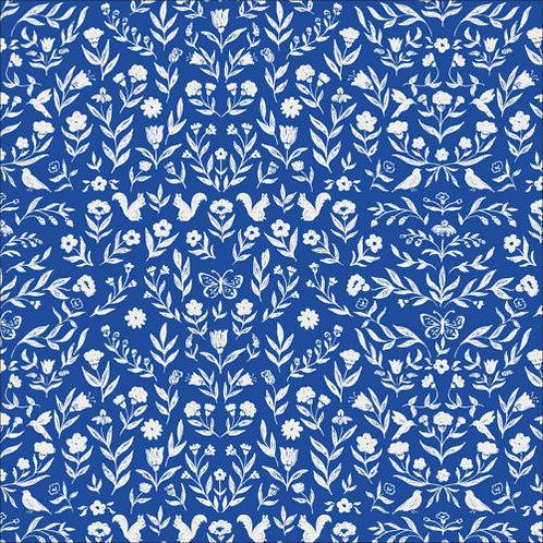 Cloud9 Perennial - Heirloom in Blue (£3.95fq/£15.80pm)