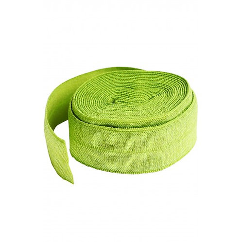 Fold-Over Elastic 20mm 2 Yard Package in Apple Green By Annie