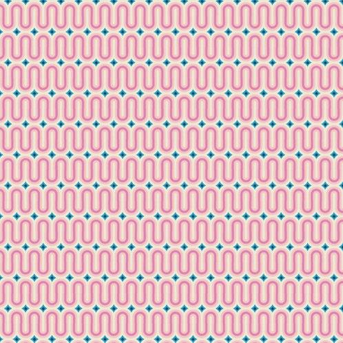 Good Vibes Raspberry from Sunburst by Art Gallery Fabrics (£3.60fq / £14.40pm)