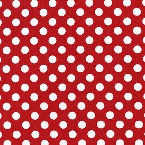 Robert Kaufman Spot on -Red