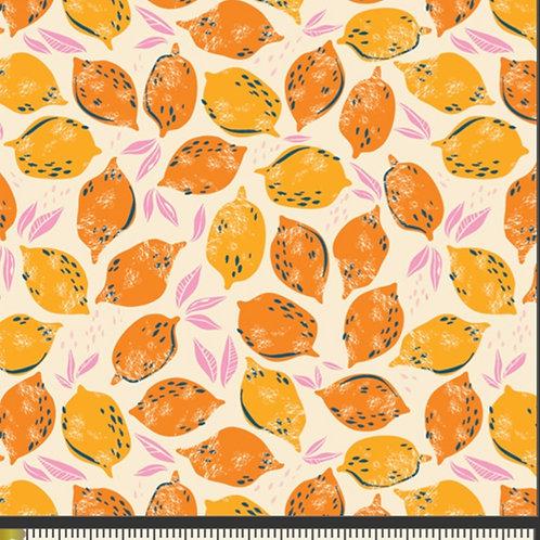Mango Lemonade from Sunburst by Art Gallery Fabrics (£3.60fq / £14.40pm)