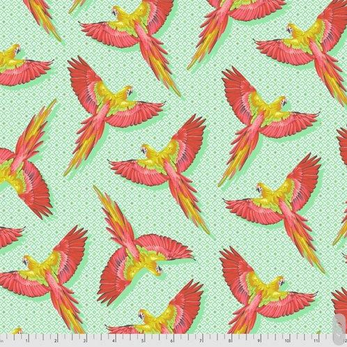 *Pre-Order* Tula Pink Daydreamer Macaw Ya Later Mango (£3.75fq/£15pm)