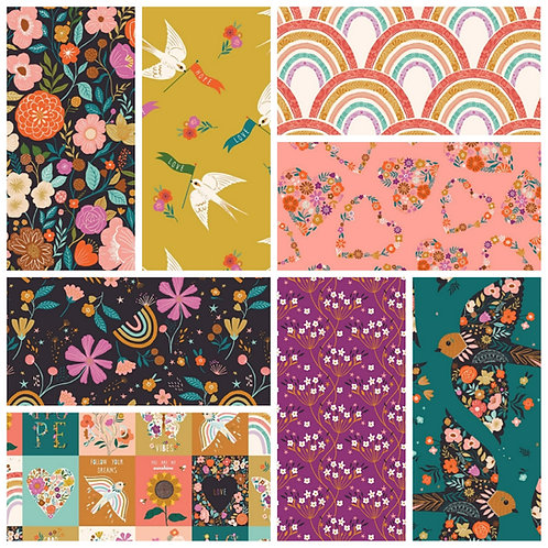 Dashwood Studio Good Vibes Fat Quarter Bundle  *10% off FQBundles*