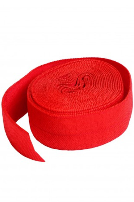 Fold-Over Elastic 20mm 2 Yard Package in Atom Red By Annie