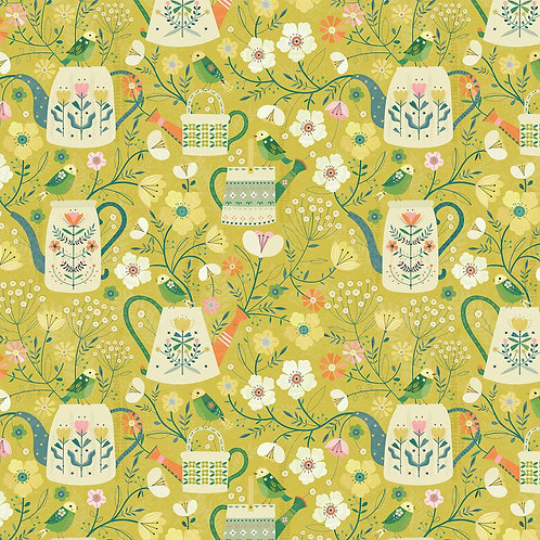 Dashwood Studio Hedgerow Watering Cans in Green (£3.25fq/£13.00pm)