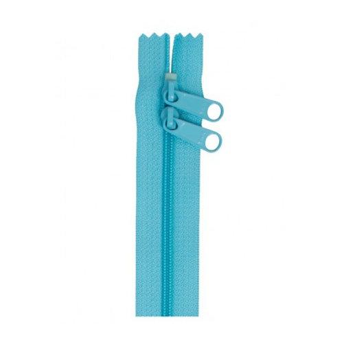 """30"""" Double Slide Bag Zipper Parrot Blue By Annie"""
