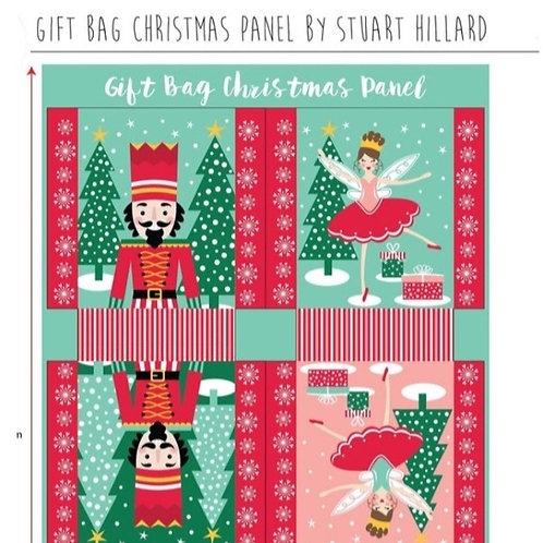 The Craft Cotton Company - Nutcracker Gift Bag Christmas Panel
