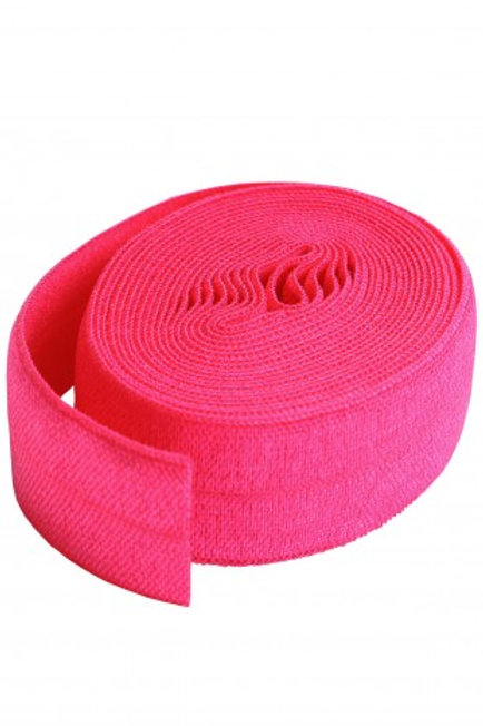 Fold-Over Elastic 20mm 2 Yard Package in Lipstick By Annie