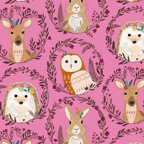 *Pre-Order* Dashwood Studio Wild Animal Wreaths Pink (£3.25fq/£13.00pm)