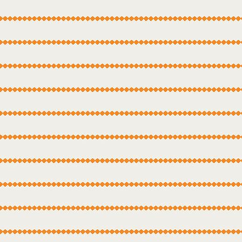 Summer Side Art Gallery Fabrics - Seaside Stripes Tangerine