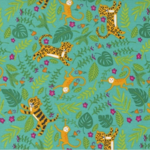 *PRE-ORDER* Jungle Paradise Tigers in Peacock £3.75fq/£15pm