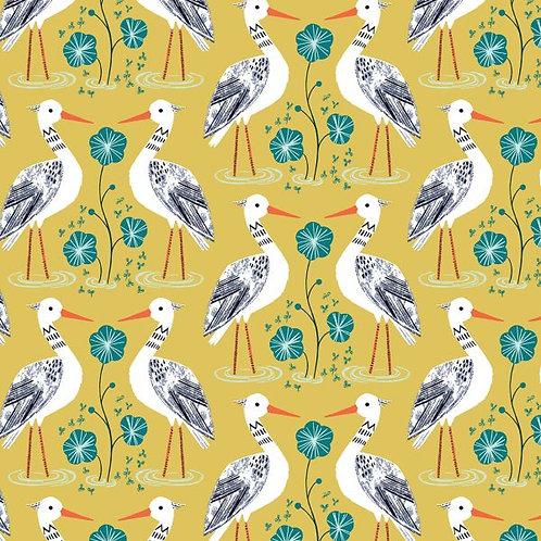 Dashwood Studios Rivelin Valley - Herons in Yellow