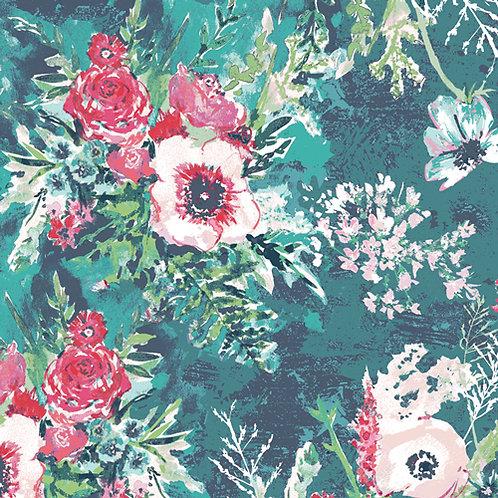 Art Gallery Fabrics Aquarelle - Impressionist Wash Fresh