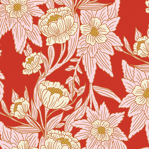 Art Gallery Fabrics 365 Fifth Avenue - Madison Avenue Blaze