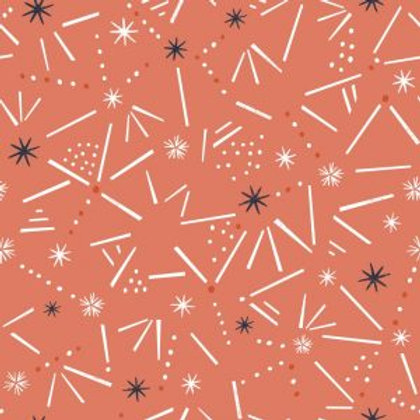 Dashwood Studios Winterfold Copper Stars/Lines (Metallic)
