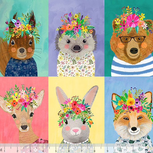 Blend Forest Friends - Panel 60cm x 112cm (24in x 44in)