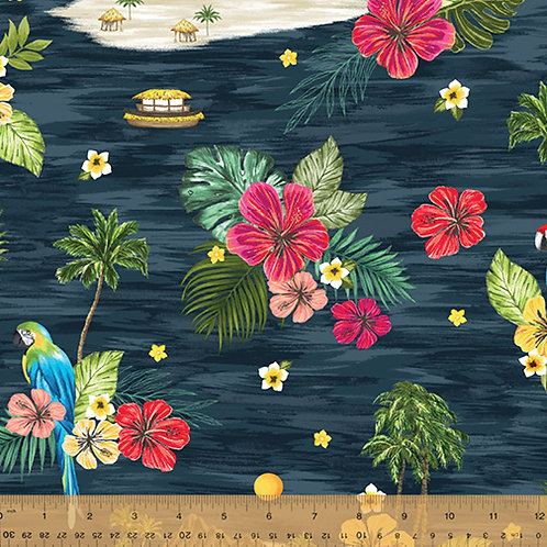 Isla from Windham Fabrics - Island in Navy