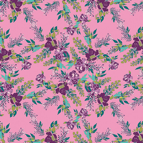 Virtuosa Designed by Art Gallery Fabrics - Episodic Blooms in Rosa