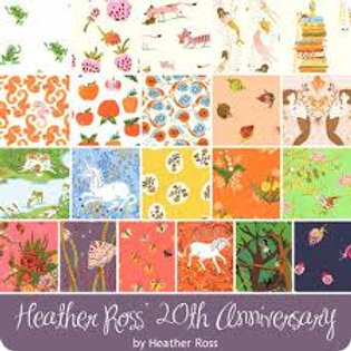 Heather Ross 20th Anniversary Collection Pre-Cut Fat Quarter Bundle