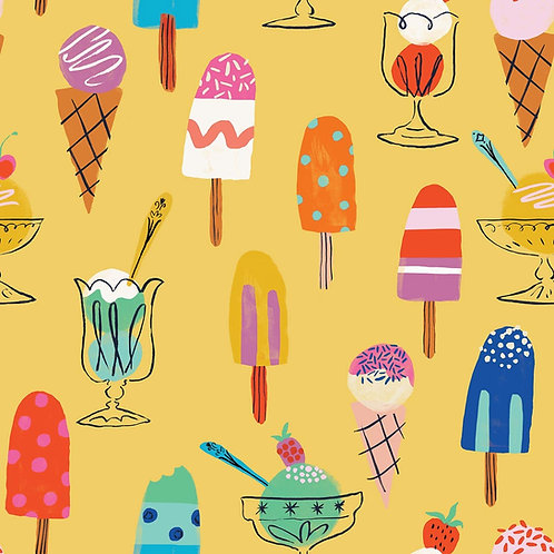Dashwood Studio Lazy Days Ice Cream in Yellow (£3.25fq/£13.00pm)