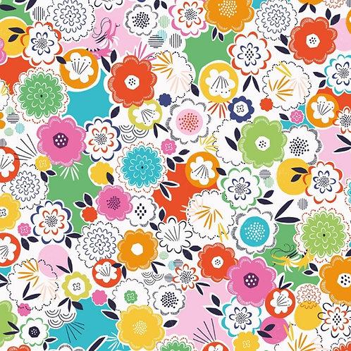 Dashwood Studio Silk Roads Flowers in Multi (£3.25fq/£13.00pm)