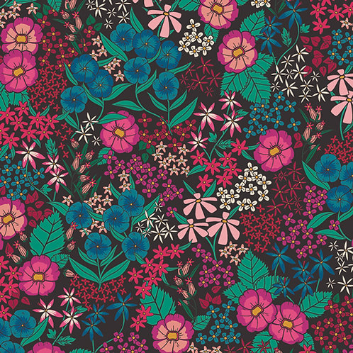 Art Gallery Fabrics The Flower Society - Perennial Soiree (£3.60fq/£14.40pm)