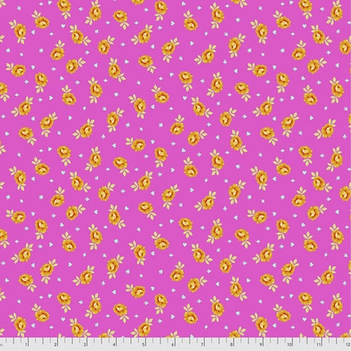 Tula Pink Curiouser and Curiouser Baby Buds in Wonder - £3.75fq/£15pm