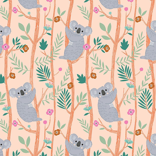 Dashwood Studio Our Planet Koalas in Peach (£3.25fq / £13.00pm)