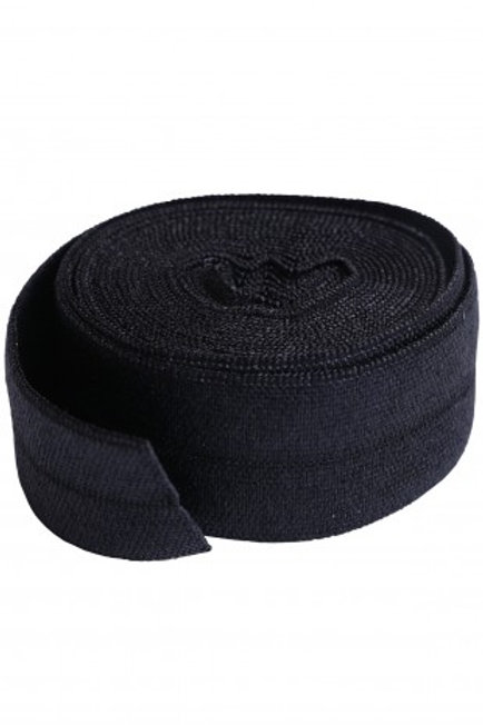 Fold-Over Elastic 20mm 2 Yard Package in Black By Annie