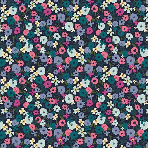 Art Gallery Fabrics Trouvaille - Posy Nightfall