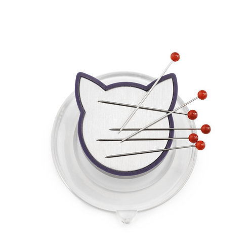 Prym Magnetic Cat Pin Holder with Suction Pad