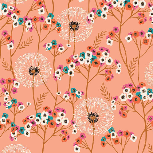 Dashwood Studio Aviary - Peach Flowers & Dandelion Clocks
