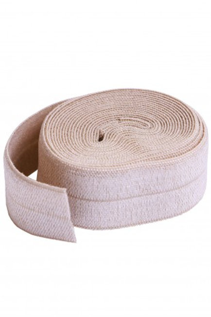 Fold-Over Elastic 20mm 2 Yard Package in Natural By Annie